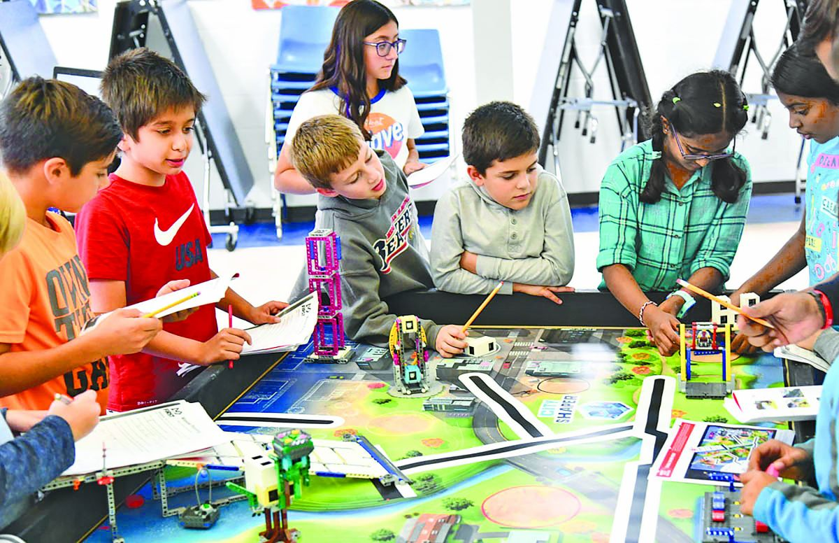 Discover FIRST® LEGO® League: In Schools