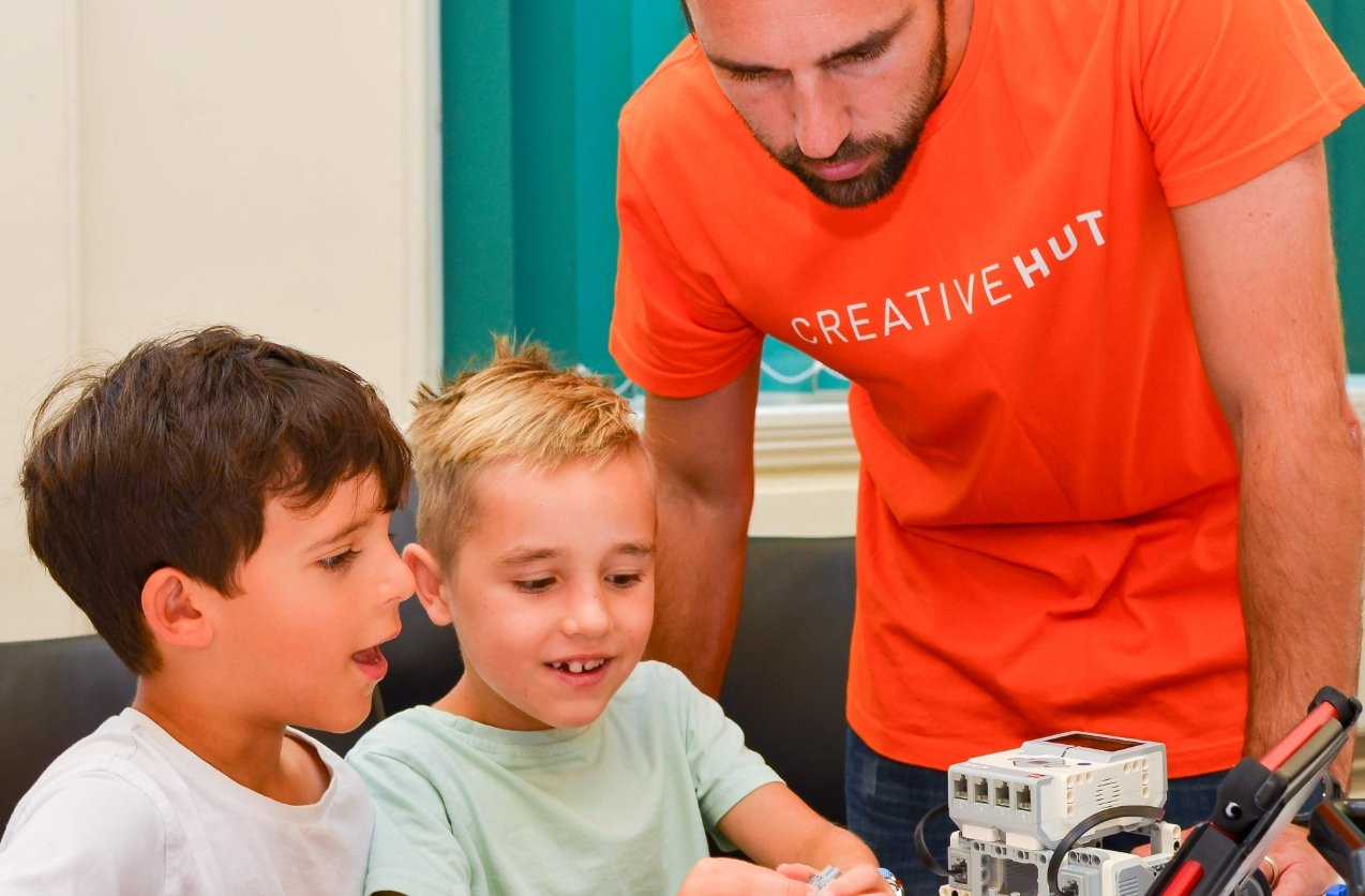 creative hut robotics workshops